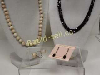 Semi-Precious Stone Necklace & Earring Sets