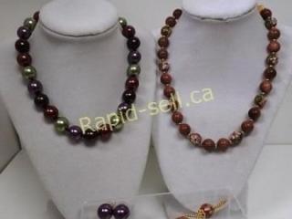 Two Festive Necklace Sets