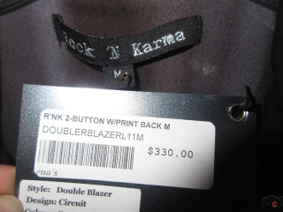 Rock N Karma and Dept Tops - Size M - BID PRICE IS PER ITEM MUST TAKE 2 TIMES THE MONEY UNRESERVED