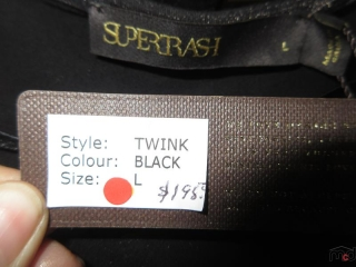 Supertrash and Dept Tops - Size L - BID PRICE IS PER ITEM MUST TAKE 2 TIMES THE MONEY UNRESERVED