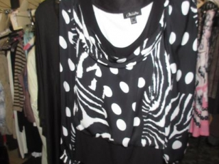 Nueva and Jacqueline Conoir Tops - Size 16 - BID PRICE IS PER ITEM MUST TAKE 2 TIMES THE MONEY UNRES...