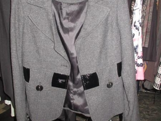 Nicole Benisti Coat and Jacqueline Conoir Top - Size 2 - BID PRICE IS PER ITEM MUST TAKE 2 TIMES THE...