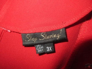 Stop Staring Dress - Size 3X UNRESERVED