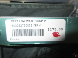 Dept Pants - Size 2 - BID PRICE IS PER ITEM MUST TAKE 2 TIMES THE MONEY UNRESERVED