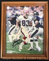 Buffalo Bills Andre Reed Signed Photograph 8x10