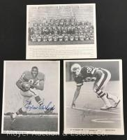 Group of 3 Black and White Buffalo Bills Photos, 8x10