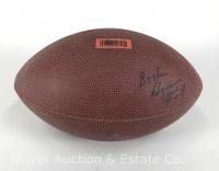 Signed Football Believed to Booker Edgerson #24