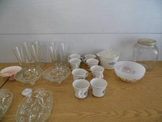 Glassware - FireKing - Jar