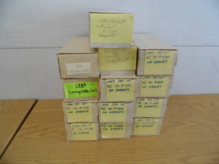 Lot of 13 Boxes of Sports Cards