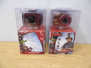 Lot of 2 Avengers HD Cameras