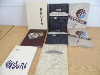 Vintage Yearbooks - Fargo Central & Bruins