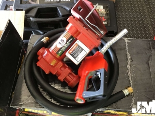 (UNUSED) FUEL BOSS 12V DC FUEL PUMP, 15 GPM, 13'......