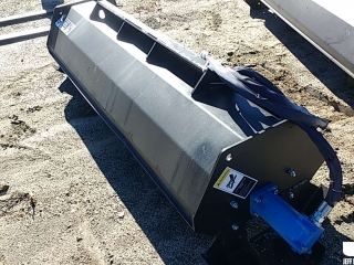 "(UNUSED) 72""...... HYDRAULIC ROTARY TILLER, TO FIT SKID STEER"