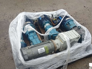 MISC QTY OF ELECTRIC MOTORS & GEARBOXES