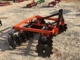 6'...... DISC HARROW, 3PT HITCH