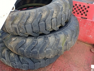 QTY OF (3) 15.5-25 TIRES, TO FIT MOTORGRADER