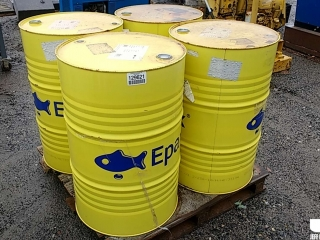 QTY OF (4) 55 GAL DRUMS