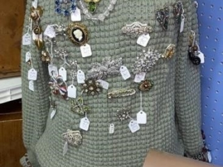 Mannequin with Jewelry
