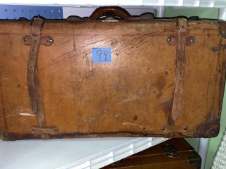 Leather Luggage Case