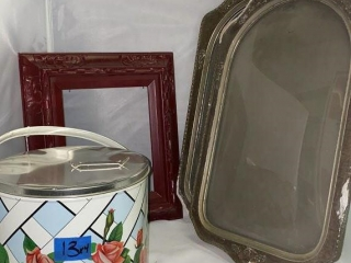 Picture Frames and Ice Bucket