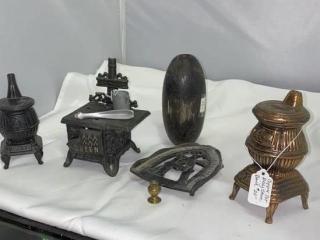 Mini Metal stoves and Brass Mini Stove