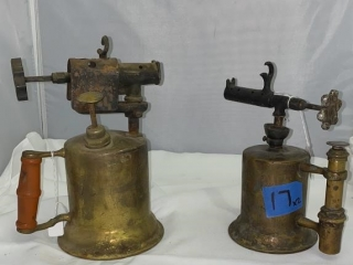 Vintage Brass Torches