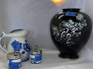 Korean Vase & Williams-Sonoma  Set
