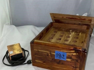 Antique Test Tube Box