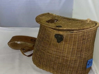 Creel Wicker English Bag