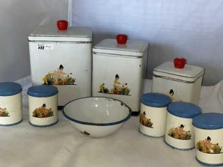 Tin Canisters & Containers