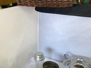 Wicker Basket w/ Kitchen Decor