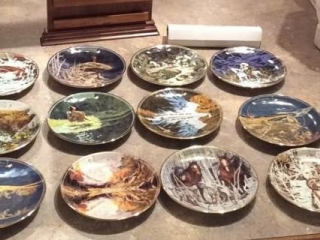 Bev Doolittle Calendar Plates