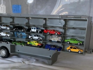 Die Cast  Cars and Trailer