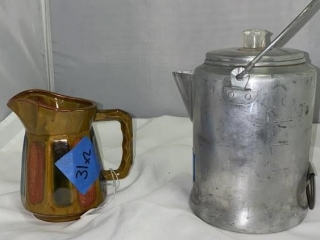 Percolator and Pitcher