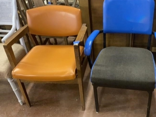 Mismatched Armchairs