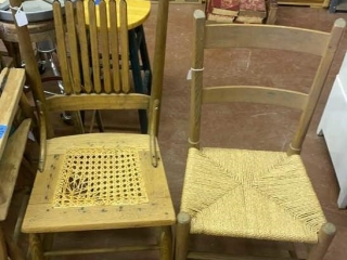 Miscellaneous dinette chairs