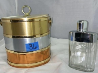 Ice Bucket and Flask