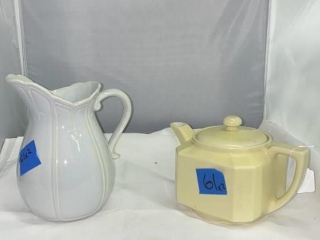 Pitcher and Tea Pot