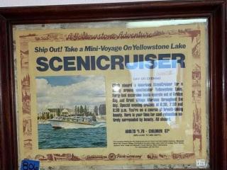 Yellowstone Lake Scenicruiser Poster