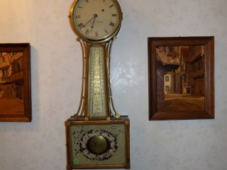 Aaron Willard Banjo Clock