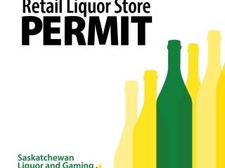 Retail Liquor Store Permit - RM OF SHELLBROOK NO. 493, Saskatchewan UNRESERVED