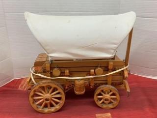 Chuck wagon Lamp- working- 14 x 12