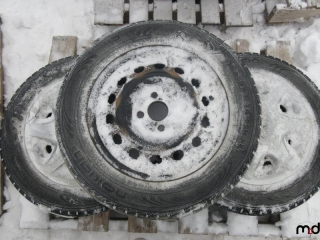 Nokian 185/65R14 Tires on Rims - BID PRICE IS PER TIRE MUST TAKE 3 TIMES THE MONEY UNRESERVED