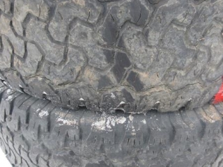 BF Goodrich LT 315/70R17 Tires - BID PRICE IS PER TIRE MUST TAKE 4 TIMES THE MONEY UNRESERVED