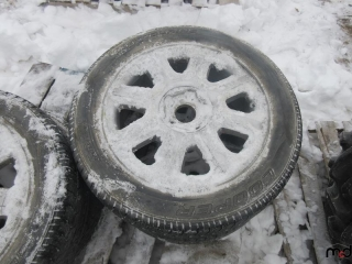 Cooper 225/55R18 Tires on Rims - BID PRICE IS PER TIRE MUST TAKE 4 TIMES THE MONEY UNRESERVED