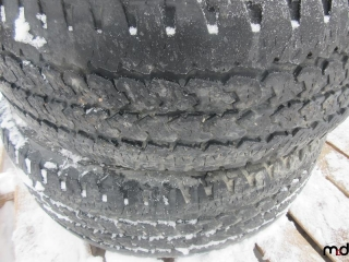 Firestone LT245/70R17 Tires - BID PRICE IS PER TIRE MUST TAKE 4 TIMES THE MONEY UNRESERVED