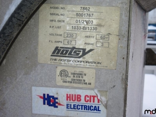 Hotsy Automatic Parts Washer (Model: 7862) UNRESERVED