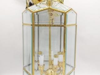 Quorum Glass Light Fixture 23