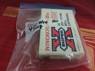 Winchester 458 Mag, Lot of 20