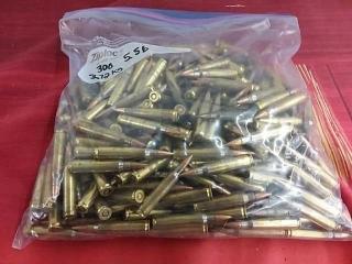 300 Ammo, Lot of 300, 2.72 Kgs
